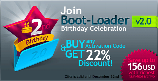 Save 22% with Boot-Loader v2.0!