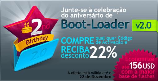 Economize até 22% com Boot-Loader v2.0!